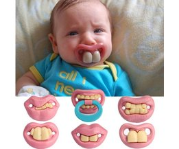 Funny Pacifier For Babies In Different Models