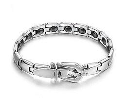 Silver Anticorrosive Bracelet Men