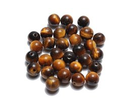 Tigereye-Beads In Different Sizes