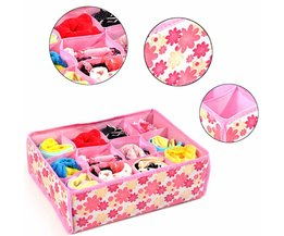 Box With Compartments For Socks And Underwear