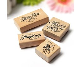"""Rubber Stamp """"Thank You"""""""