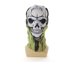 Mask With Image Of Skull