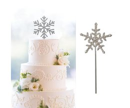 Snowflake Decorations For Cakes