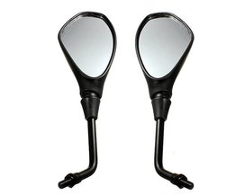 Motorcycle Mirrors 10Mm Thread 1 Pair