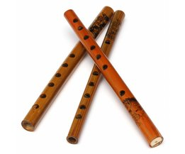 Traditional Bamboo Flute With Six Finger Holes