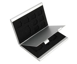 Memory Card Box With 13 Holders
