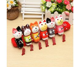 Wooden Decoration Cats