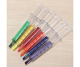 Fluorescent Markers With Syringe Design