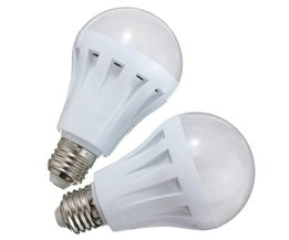 E27 6W LED Bulbs With Warm White Light