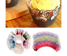 Cupcake Wrapper Set 12 Pieces