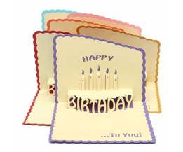 Beautiful 3D Greeting Card / Birthday Card