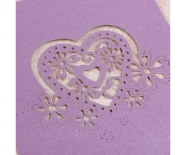 Table Cards Wedding (10 Pieces)