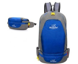 Rucksack With Extra Bag