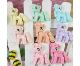 Kawaii Pony Decoration Of Resin