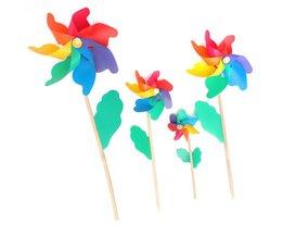 Colored Windmills