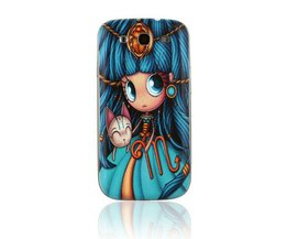 Cover With Illustration For Samsung Galaxy S3 I9300