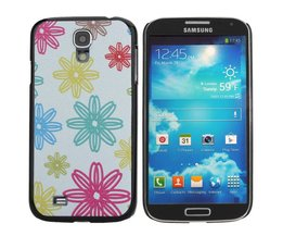 Case With Flowers Pattern For Samsung Galaxy S4 I9500