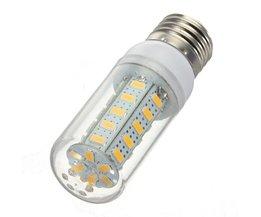 LED Tube Lamp With E27 Fitting White / Warm White Light
