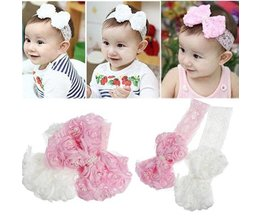 Floral Hair Strap For Babies