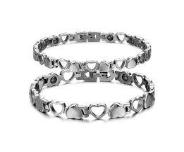 Magnetic Hearts Bracelet In Two Models