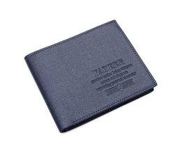 Blue Or Brown Wallet