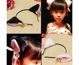 Hair Strap With Cat Species In Two Colors