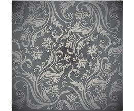 Floor Protector With Decorative Pattern