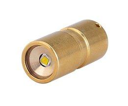 Mini Flashlight LED Brass 30Mm