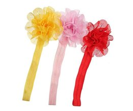 Baby Hair Strap With Flower