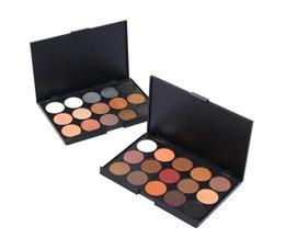 Eye Shadow Mat & Glitter (15 Color Palette)