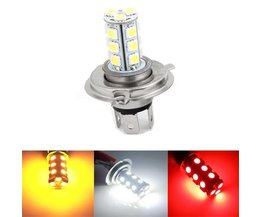 H4 LEDs For The Car In 3 Light Colors