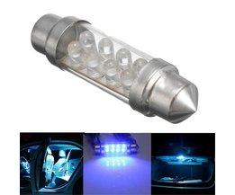 Blue Interior Lighting Car