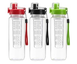 Water Bottle With Fruit Filter 700ML