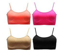 Sport Bra With Filling For Ladies