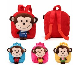Backpack With Monkey In Different Colors