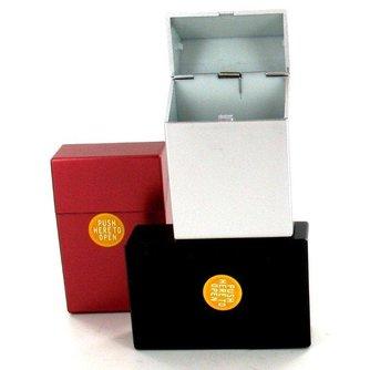 Sigaretten Box metallic 20