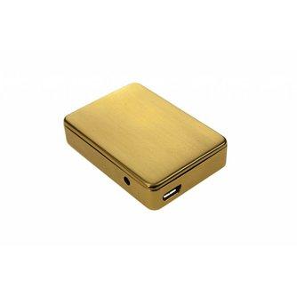Shayu USB Oplaadbare Aansteker Goud