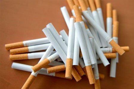 Sigaretten hulzen