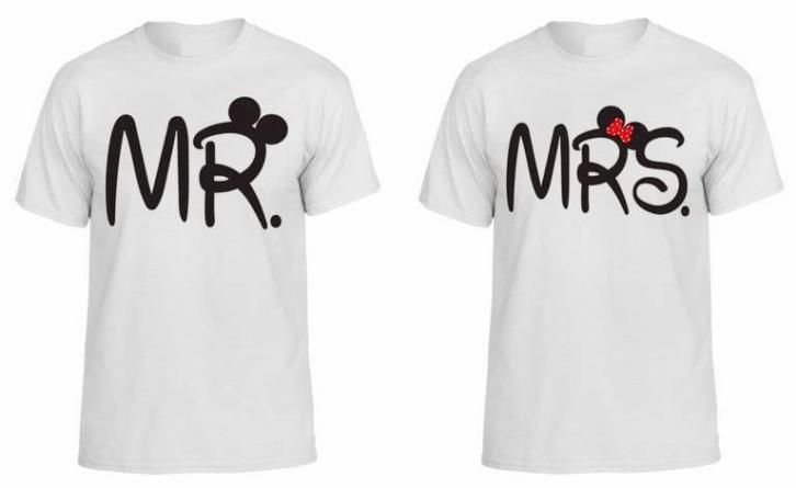 T-shirt Mrs. & Mr.