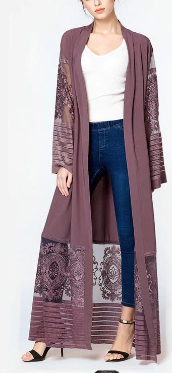 Maxi Lace Vest Sophia