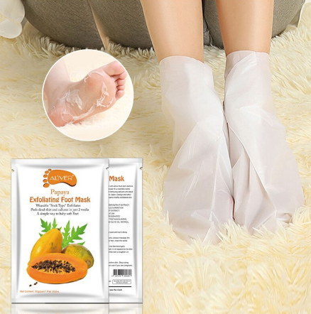 AL'iver Exfoliating Baby Foot Mask Papaya