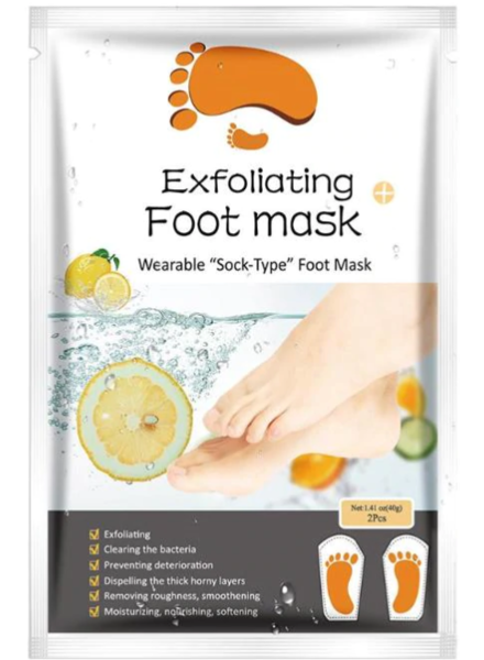 AL'iver Exfoliating Baby Foot Mask Lemon (Set)