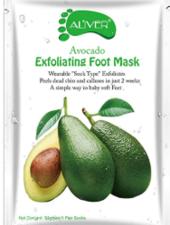 AL'iver Exfoliating Baby Foot Mask Advocado