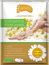 AL'iver Exfoliating Baby Foot Mask Camomile