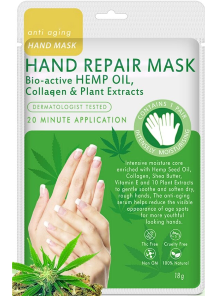 Hand Repair Mask Bio-Active HEMP Oil