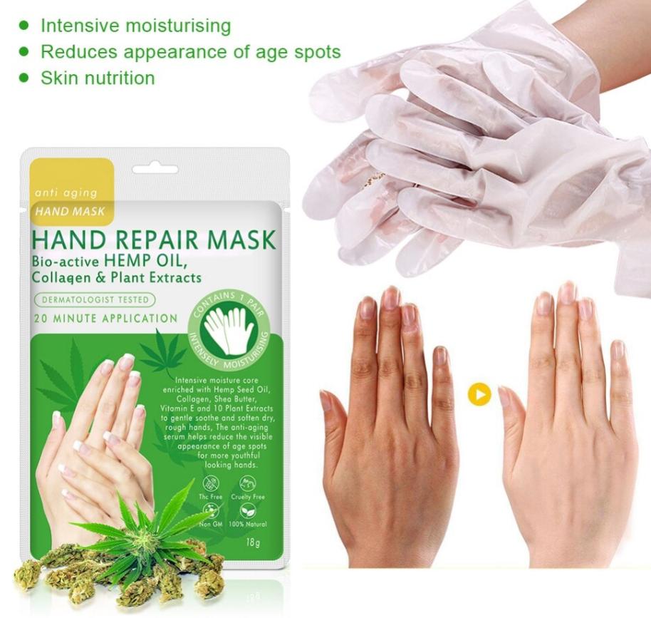 Hand Repair Mask Bio-Active HEMP Oil