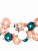 Rose Gold Green Latex Ballon Garland Arch Kit 57pcs