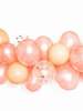 Rose Gold Latex Ballon Garland Arch Kit 57pcs