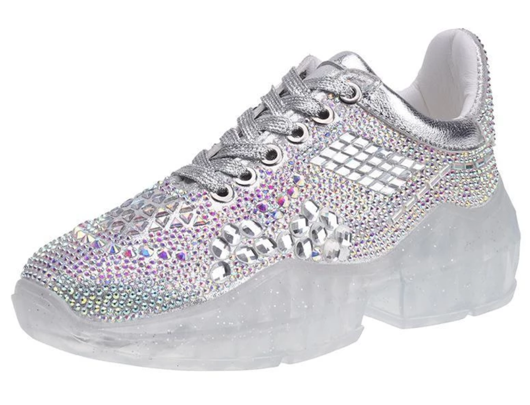 Customized Full Crystal Shoes