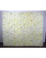 Ivory Flower Wall 180 x 200 (TE HUUR)